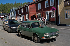 Saab 99       1969/70 (Burminordlicht) Tags: saab saab99 classiccar oldtimer sweden 1969 1970 classicsaab veteranfordon veteranbil