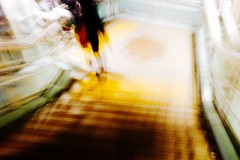 Downstairs City Life Hurry Up! Blurred Motion Urgency On The Move City Motion Commuter Night Yokohama Japan Yokohama, Japan October October 2016 (T.M Photos) Tags: downstairs citylife hurryup blurredmotion urgency onthemove city motion commuter night yokohama japan october october2016