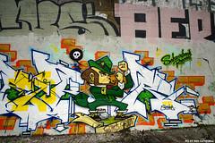 Merry St.Patrick's day (Red Cathedral uses albums) Tags: sonyalpha a77markii a77 mkii alpha sony sonyslta77ii slt evf translucentmirrortechnology redcathedral graffiti streetart urbanart contemporaryart urbex belgium alittlebitofcommonsenseisagoodthing ruisbroek anderlecht brussels bruxelles tresspassing trespass leprechaun ireland irish green groen saintpatricksday