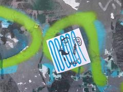 Nute (svennevenn) Tags: nute pasteups gatekunst streetartbergen