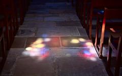 Divine light (Antoine - Bkk) Tags: france paris light xt10 darktable raw church atmosphere spiritual heritage floor indoor