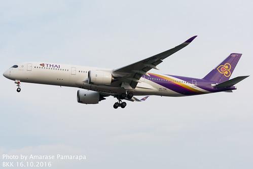 HS-THB // Thai Airways International Airbus A350-941