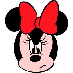 []LINE06 (sutaemon) Tags: sticker message    disney minnie mouse