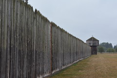 Fort Vancouver Natl Historic Site - Fort - Wall and Bastion (jrozwado) Tags: northamerica usa washington vancouver fortvancouver nationalpark historicsite fort wall bastion museum livinghistory