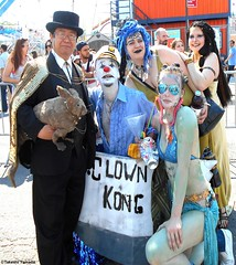 Dr. Takeshi Yamada and Seara (Coney Island Sea Rabbit) at the Mermaid Parade by the Coney Island Beach in Brooklyn, New York on June 18, 2016.  20160618SAT MERMAID PARADE. DSCN6605=p4035C1 (searabbits23) Tags: searabbit seara takeshiyamada  taxidermy roguetaxidermy mart strange cryptozoology uma ufo esp curiosities oddities globalwarming climategate dragon mermaid unicorn art artist alchemy entertainer performer famous sexy playboy bikini fashion vogue goth gothic vampire steampunk barrackobama billclinton billgates sideshow freakshow star king pop god angel celebrity genius amc immortalized tv immortalizer japanese asian mardigras tophat google yahoo bing aol cnn coneyisland brooklyn newyork leonardodavinci damienhirst jeffkoons takashimurakami vangogh pablopicasso salvadordali waltdisney donaldtrump hillaryclinton endangeredspecies parade