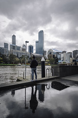 Reflection (sabbir_015) Tags: street nikon australia canon nz newzealand candid russia france germany italy africa brazil reflection best beautiful landscape cityscape sky water harbour kings cross melbourne sydney city lonely travel photography bangladeshi photographer