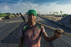 Solaiman - The Construction Worker (_MaK_) Tags: street portrait documentary construction story hardworker urbanization modernization humanity civilization modern people solaiman color bangladesh poverty crisis