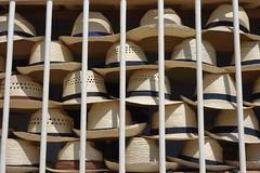 Trinidad (Cuba) : les chapeaux (NamasKat) Tags: chapeaux paille grilles trinidad cuba hat sombrero caraïbes caribbean commerce