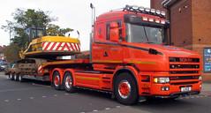"""Kenny Blain"", SCANA, Heavy Haulage (photobobuk - Robert Jones) Tags: transport heay haulage traffic yardley birmingham uk"