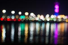 Night life (Karsten Gieselmann) Tags: blau bokeh domiplan50mmf28 em5markii farbe grn lila mzuiko microfourthirds olympus reise rot strand vintagelens blue color green kgiesel m43 mft purple red travel violett