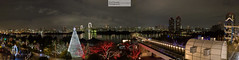 Panorama depuis Odaiba (Guillaume Chagnard Photographie) Tags: japon tokyo japan odaiba rainbow bridge rainbowbridge