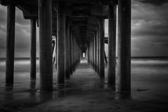 IR Under the Pier (Piizzi) Tags: chrispizzitola orangecounty photographer piizzi piizzicom piizzii blackandwhite infrared infraredphotographer ir la lunadabay oc pizzitola sunkencity surfphotographer surfing videographer water