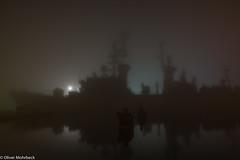 Mölders im Nebel (jade-schiffsbilder.de) Tags: wilhelmshaven marinemuseum mölders zerstörer langzeitbelichtung norddeutschland nordseeküste