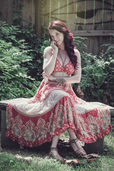 The Sweetest (Keltron - Thanks for 8 Million Views!) Tags: select caitlin caitlinciara redhead redhair neworleans neworleansgirls louisiana clouetgarden beautifulgirl longlegs longdress garden model attractive