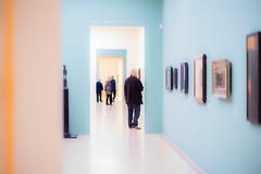 The Visitors (*Capture the Moment*) Tags: 2016 art betrachter bild bilder corridor f14 gang hall hallway kunst leicasummiluxm1475 leitzleica lenbachhaus licht light menschen paintings sonya7m2 sonya7mark2 sonya7ii sonyilce7m2 visitor