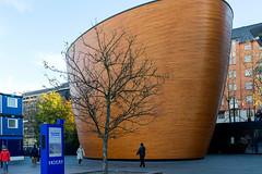 The Chapel of Silence in Helsinki (Poupetta) Tags: chapel helsinki finland tree candid