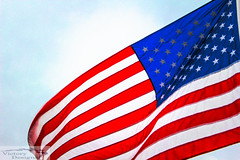 Red, White and Blue (victorydesignsny) Tags: american flag