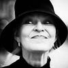 Dali (Rene Bastiaanssen) Tags: denbosch hat black white lady smile contrast jeroen bosch huis dali rakutyte rene bastiaanssen