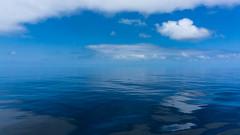 Glass Sea (danielledufour430) Tags: sea pacific water surreal horizon clouds blue calm serene sonya6000 travel sail cruise reflections