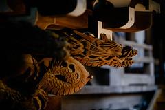 Dragon Shade (H.H. Mahal Alysheba) Tags: japan tokyo temple art sculpture shitamachi shibamata nikon d800 afs nikkor 105mmf14