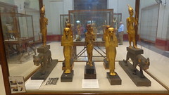 Tutankhamun's Treasures - Egyptian Museum (Rckr88) Tags: egyptian museum egyptianmuseum tutankhamuns treasures tutankhamunstreasures tutankhamun kingtut tut cairo egypt museums ancient ancientegypt africa travel pharoahs pharoah gold relic relics