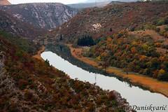 Zrmanja (mdunisk) Tags: zrmanja kanjon dolina obrovac zatonobrovaki zaton mdunisk rijeka refleksija velebit wow