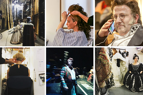 #OperaGram Instameet: Photos from behind the scenes on <em>Les Contes d'Hoffmann</em>