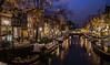 Keizersgracht Amsterdam (Emperor's Canal) (Víctor Gómez Kapranos) Tags: nikon nikonphotography nikond3100 nightphotography nikontop longexposure longexposureshot iso100 amsterdam keizersgracht netherlands d3100 slowshutter reflections canal water