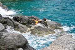 La vita e bella...mademoiselle calabrisella...Vanessa Chiarella... (kiareimages1) Tags: calabria pietragrande golfodisquillace mare sea mer scogli images immagini imagery colors mediterraneo marjonio italia