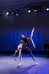 Gina Storm-Jensen and Lukas Bjrneboe Brndsrd in Meta, The Royal Ballet  ROH. 2016. Photograph by Helen Maybanks (Royal Opera House Covent Garden) Tags: ballet dance meta bycharlotteedmonds newcharlotteedmondsandrobertbinet bycharlotteedmondsandrobertbinet