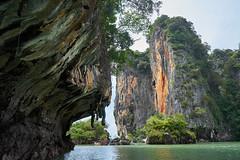 Limestone Formations (8mr) Tags: krabi thailand thai phi phiphi island andaman sea phuket sony alpha phangnga phang nga national park limestone rock formations