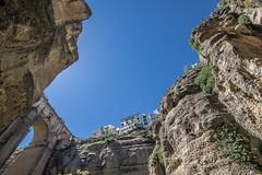 The Bridge Above (JKmedia) Tags: spain may 2016 boultonphotography canoneos7dmarkii rhonda mountainous rock landscape bridge manmade
