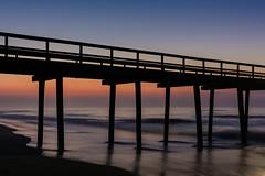 Beach Sunrise (PMillera4) Tags: beachsunrise beach sunrise dawn ocean fishingpier newjersey jerseyshore avalonnj