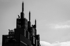 Three Skyscrapers (hakuta2016) Tags:  city building  blackandwhite d750 urban japan