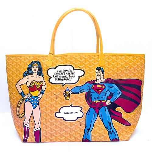 Bespoke Goyard Superheroes