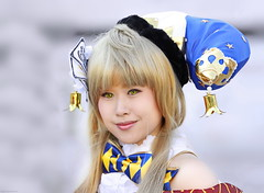 OKIMG_0686 (taymtaym) Tags: luccacomicsgames2016 lucca comics games 2016 and cosplay cosplayers costumes costumi costume cosplayer girl portrait portraits ritratto ritratti ragazza modella primo piano biona blonde asian oriental japaneese giapponese orientale
