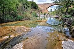 Reflejos sobre el Río Palancia. Navajas