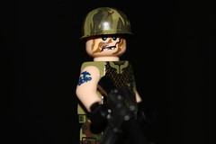 Sgt. Hawk (lego slayer) Tags: lego legos vietnam charlie hawk nam brickarms