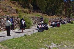 Mieszkańcy wyspy Amantani | Recidence of the Amantani Island