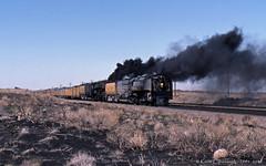 Wind Blown (GRNDMND) Tags: trains railroads unionpacific up overland steam locomotive 484 844 4664 3985 northern challenger creston wyoming