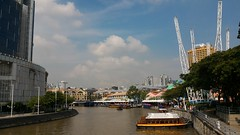 First steps in Singapore (Loeffle) Tags: 102016 singapur singapore singapura singaporeriver river fluss rivere day cloudy