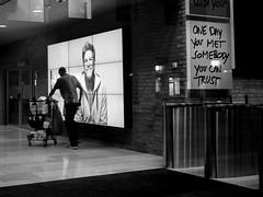Trust (Knut Arne Gjertsen) Tags: bw blackandwhite otherkeywords photographerknutarnegjertsen achromatic blancoynegro candid man mono monochrome night street streetphotography streetshot oslo norway