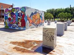 NWTWN Cube (Mr Baggins) Tags: newtown graffiti streetart jozi johannesburg sonynex6 ladyaiko mein