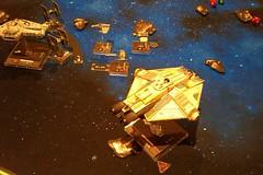 X-Wing (tim ellis) Tags: starwars xwing game wargame space tiefighter stocklandgreen uk
