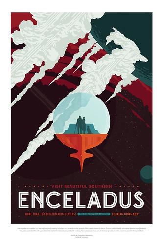 05-Affiche // 50x70 // Enceladus