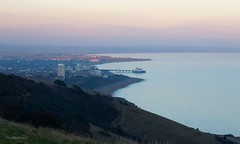 A view of Eastbourne from Beachy Head (@ S h a s h p h o t o g r a p h y) Tags: shashphotography eastbourne eastbournepier pier beachyhead