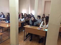 """Al-Farabi Kazakh National University - Lecture delivering <a style=""""margin-left:10px; font-size:0.8em;"""" href=""""https://www.flickr.com/photos/89847229@N08/31371093745/"""" target=""""_blank"""">@flickr</a>"""