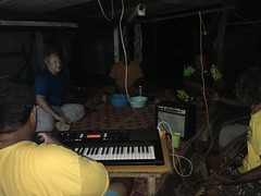 From Kava night to a small consert in the Fale (treehut), during our evening.