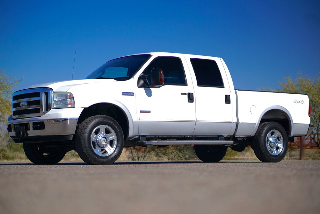2005 Ford F250 Lariat 4x4 Diesel  Truck For Sale