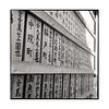 prayers • nara, japan • 2015 (lem's) Tags: prayers prieres wood bois calligraphie calligraphy nara japon japan rolleiflex planar